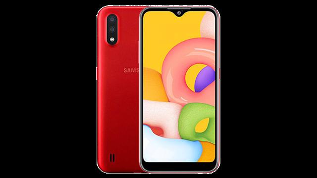 سعر و مواصفات هاتف Samsung Galaxy A01 في الجزائر