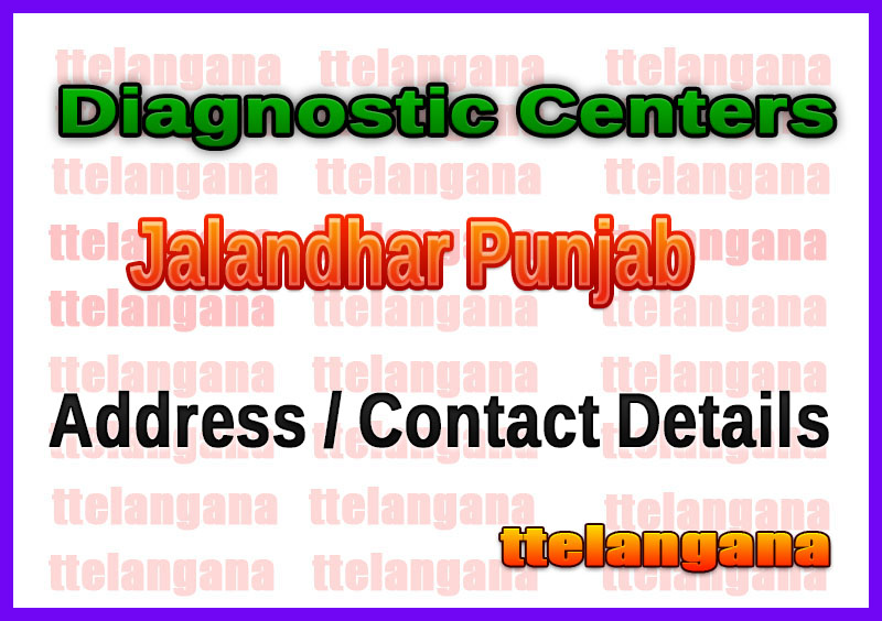 Diagnostic Centers in Jalandhar Punjab