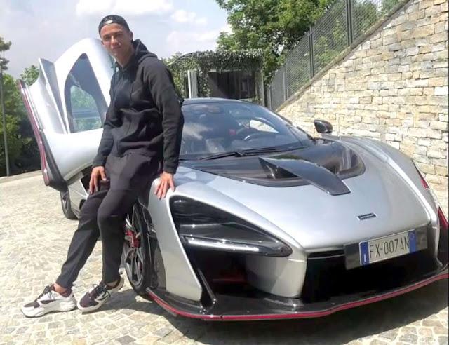 Cristiano Ronaldo New Car Price cristiano ronaldo Mclaren Senna