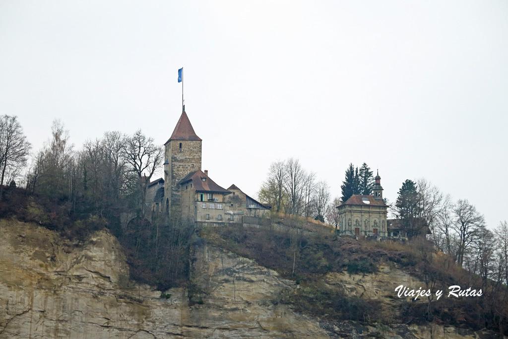 Porte de Bourguillon y Chapelle de Lorette, Friburgo