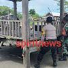 Babinsa Bersama Binmas Dan Masyarkat Desa Cikoang Peduli Pelayanan