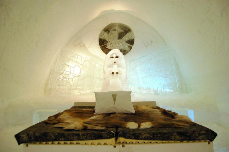 hotel ghiaccio lapponia
