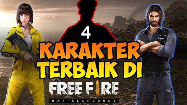 4 Karakter Hero Terbaik DI Game Free Fire Saat Solo Rank, Yakin Ga Mau Coba