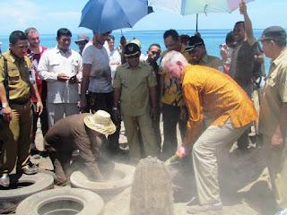 Pulau Kenawa Dijadikan Pilot Project Rumah Ramah Lingkungan