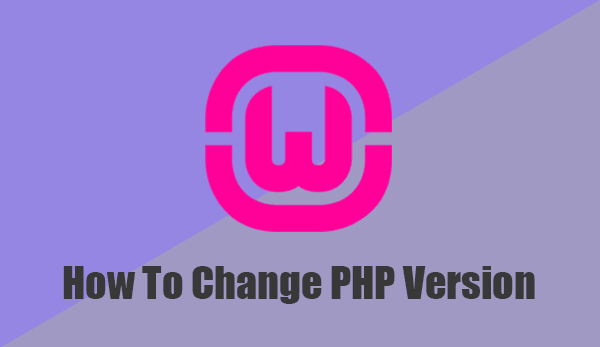 Change PHP version in WampServer