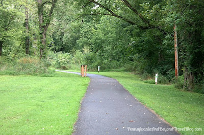 Schiavoni Park in Hummelstown Pennsylvania - Walking Trails