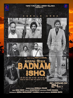 BADNAM ISHQ KORALA MAAN MP3 SONG DOWNLOAD - DJPUNJAB