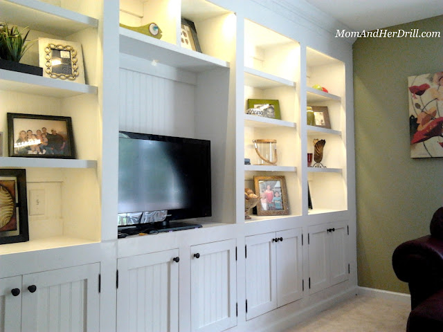 Dawn's Built-Ins : REVEAL | Mom and Her Drill
