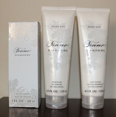 Mary Kay Forever Diamonds Shower Gel, Body Lotion, & Eau de Parfum