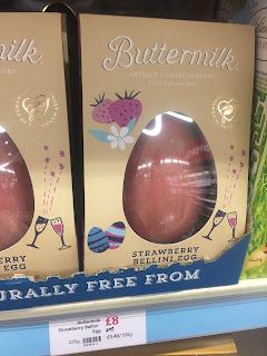 Buttermilk Strawberry Bellini Egg