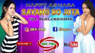 Lirik Lagu Sayang 80 Juta - Happy Asmara