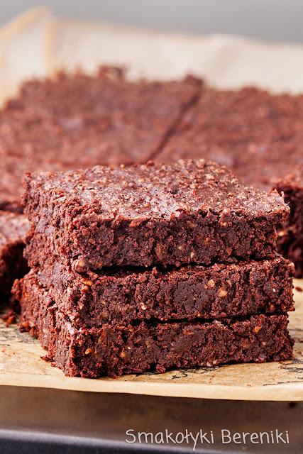 Brownies z orzechami laskowymi