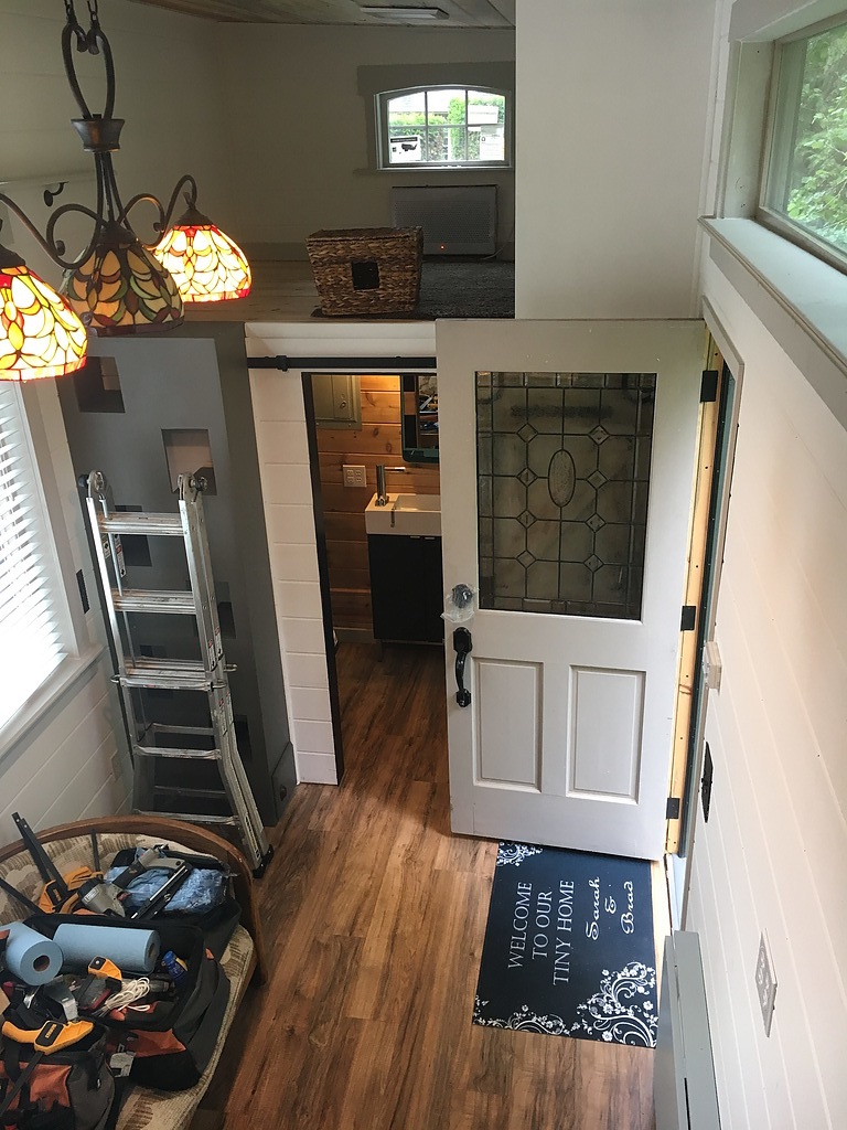 Tiny house town custom vancouver tiny house 320 sq ft for Interior designer vancouver wa