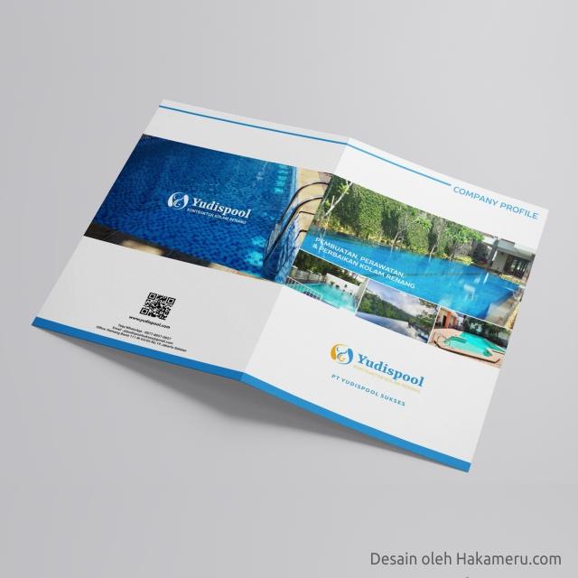 Desain Company Profile Perusahaan Kolam Renang Swimming Pool