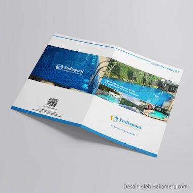 Desain Company Profile Untuk Usaha Kolam Renang PT Yudispool Sukses