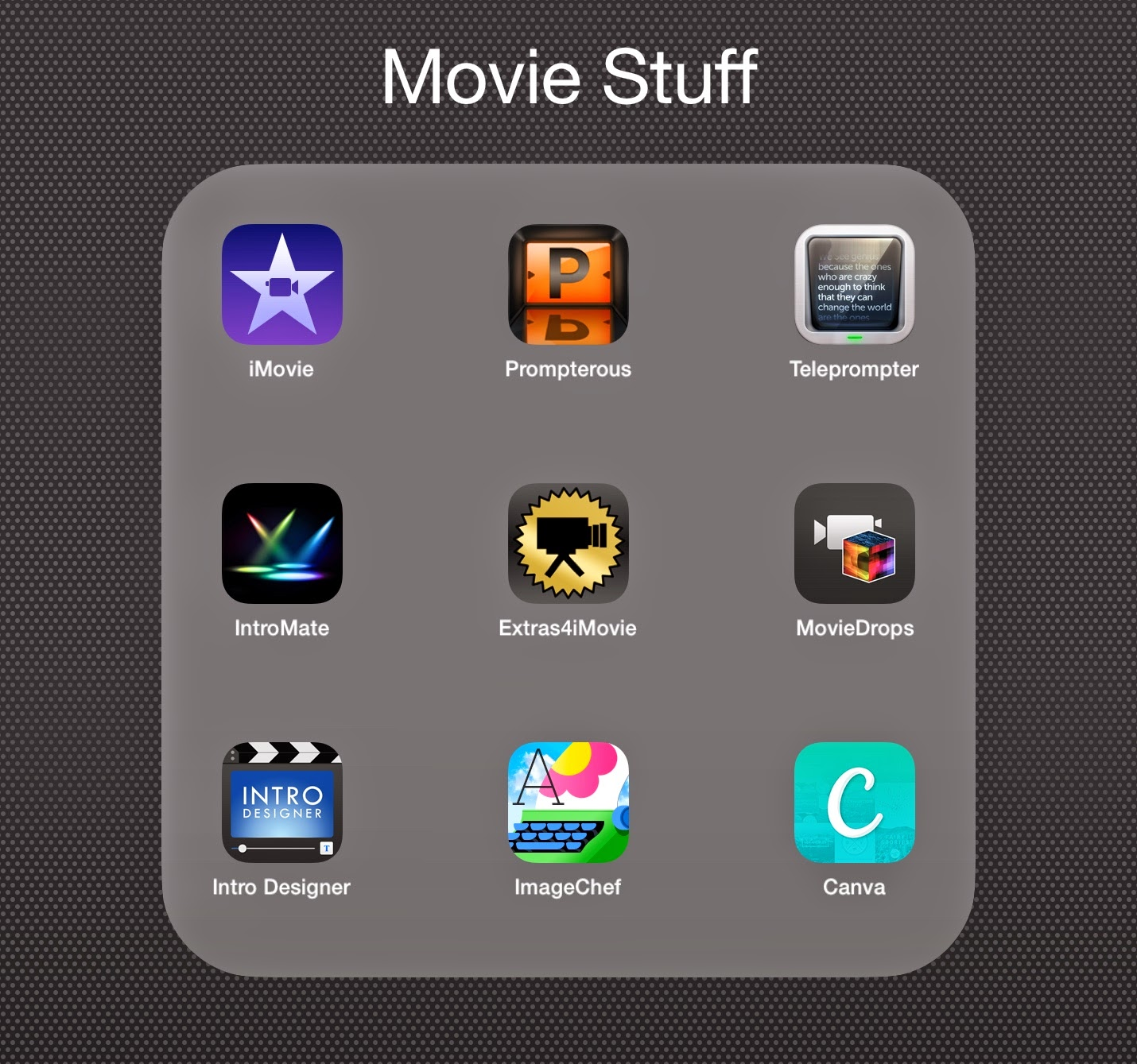 Great Apps to Complement Your iMovie App - A Teacher, Coach