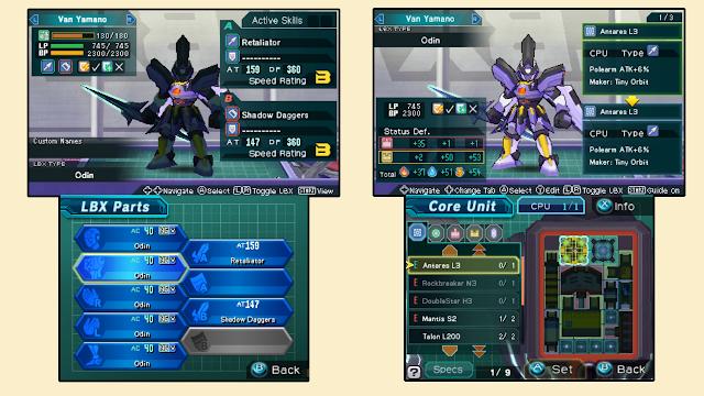 Game Jadul 3DS Pertarungan Robot Mini LBX - Little Battlers Experience