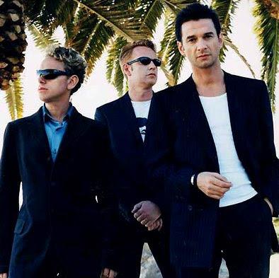 Foto de Depeche Mode fuera de los escenarios