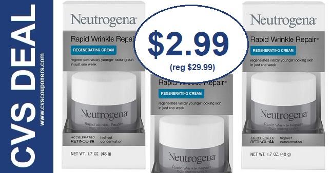 Neutrogena Facial Care CVS Deal 3-8-3-14