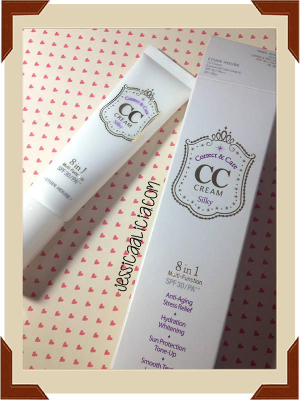 Review : Etude House CC Cream #01 Silky by Jessica Alicia