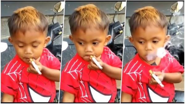 2 साल का बच्चा एक दिन में पी जाता है 40 सिगरेट, कैफीन की भी लगी लत