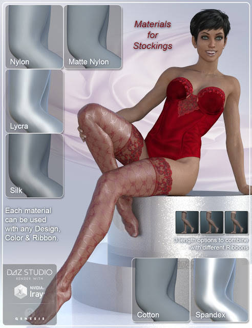 Morphing Stockings for Genesis 3 Female