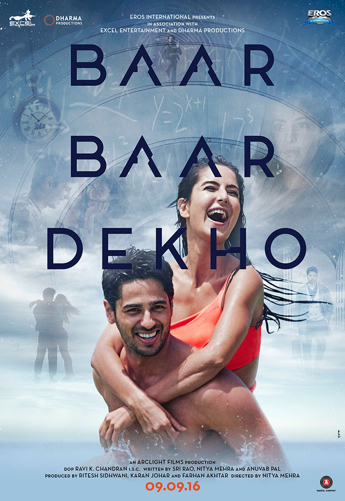 The First Poster Of Sidharth Malhotra & Katrina Kaif Starrer 'Baar Baar Dekho' Is Out Now