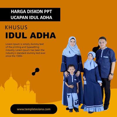 Download Templates PowerPoint Bisnis Edisi Idul Adha
