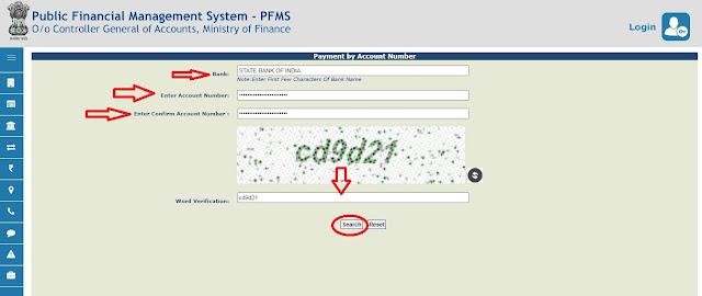 PFMS Details