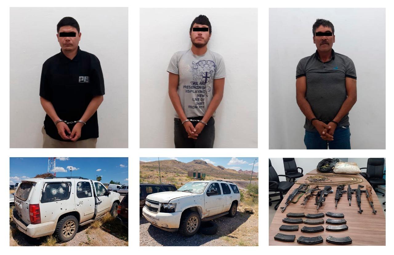Tras enfrentamiento, rescatan a Madre e Hija secuestradas en Madera; Chihuahua