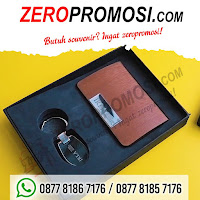 Paket seminar gift set 2 in 1, Giftset Promosi Perusahaan 2 in 1, merchandise Gift Set 2in1 202