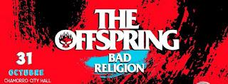 Concierto de THE OFFSPRING + BAD RELIGION en Bogotá