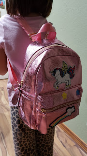 Unicorn backpack for small and big girls