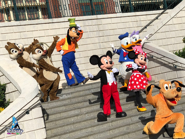 香港迪士尼樂園重開 Hong-Kong Disneyland reopening meet-and-greets magic moments