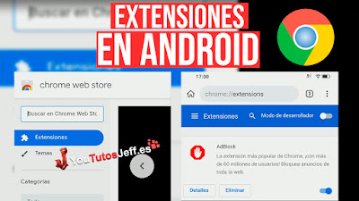 Instalar Extensiones de Chrome en Android
