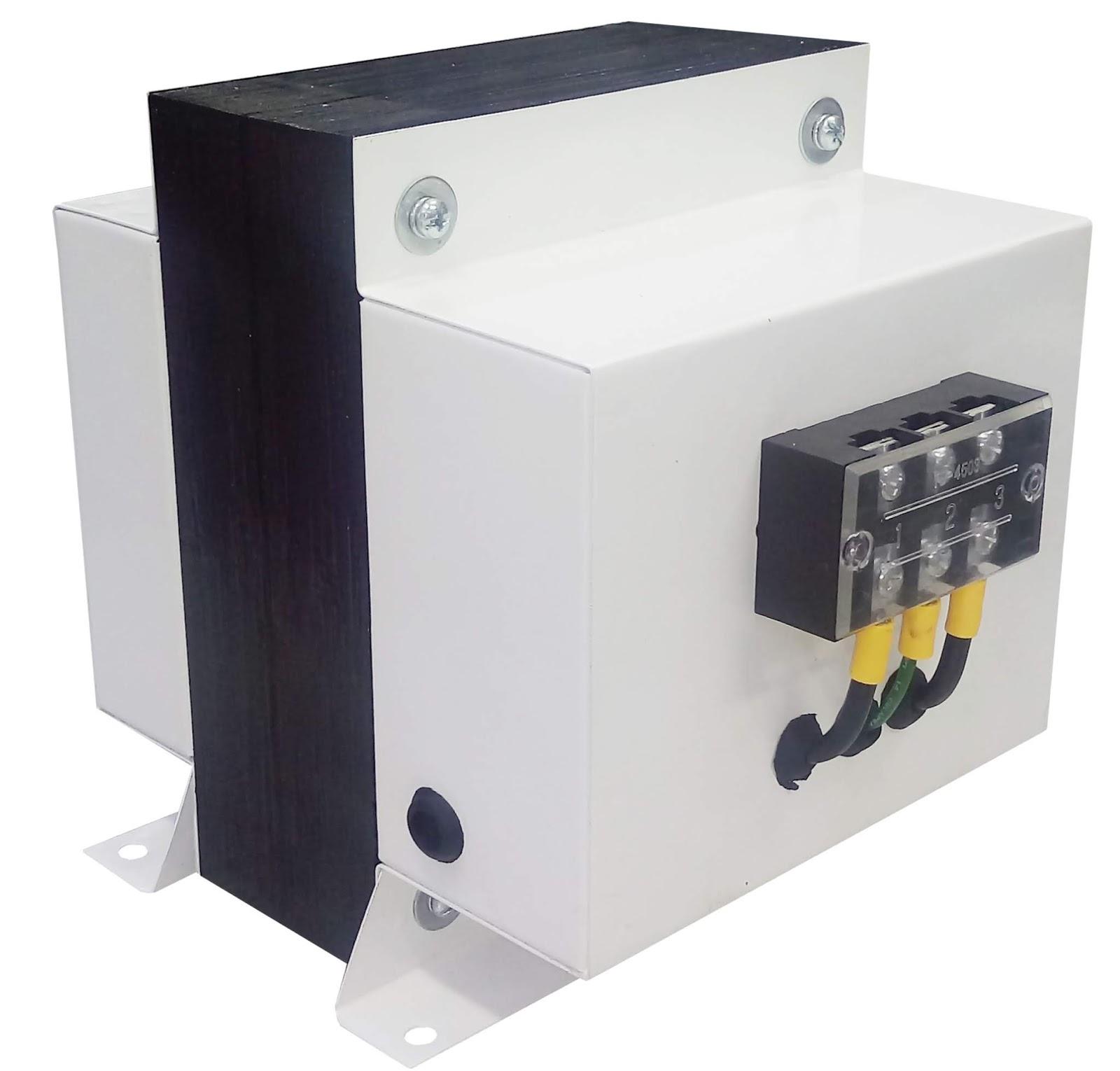 Transformador monofásico 220vac - 110vac 1000w