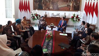 Presiden Jokowi Terima Kunjungan Pimpinan DPD di Istana - Info Presiden Jokowi Dan Pemerintah