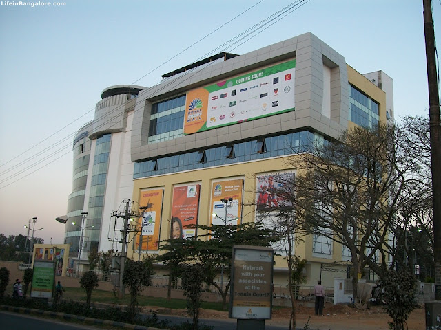 Royal Meenakshi Mall side view