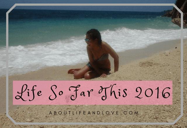 Life So Far This 2016