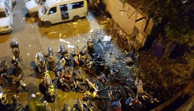 foto-foto korban bom kampung melayu jakarta timur