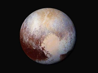 real color of pluto