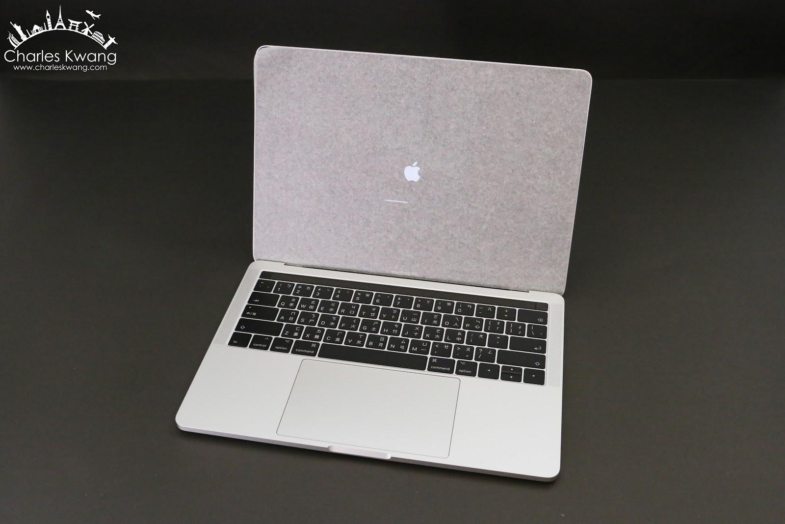 「3C科技開箱文」2017 Apple MacBook Pro 13吋 銀色 with Touch Bar 和 Touch ID 圖文開箱分享 - Charles Kwang 的美食慢遊
