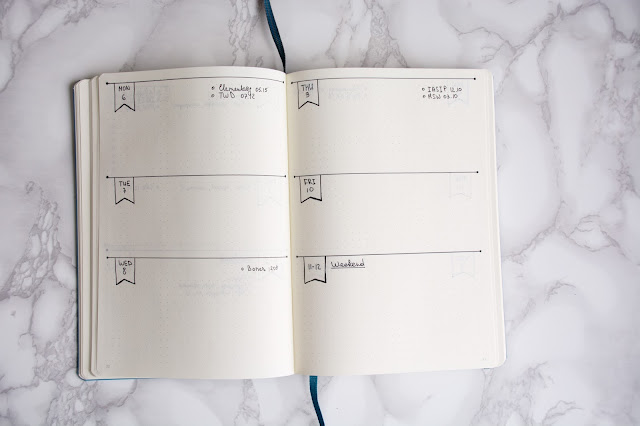 Bullet Journal 2017 weekly planner