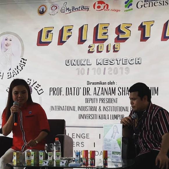 Norcy Beautylab Berjaya Melahirkan Founder Produk Baru Di Karnival Usahawan Desa (KUD) Putrajaya