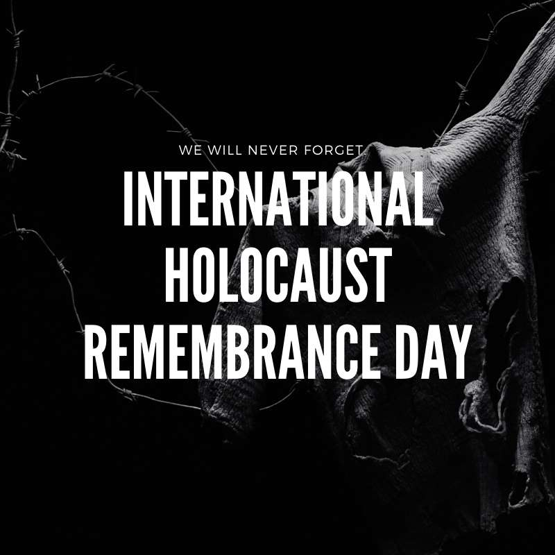International Holocaust Remembrance Day Wishes Sweet Images