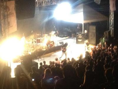 rock pesado en vivo