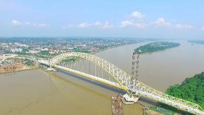 jembatan terpanjang di indonesia saat ini