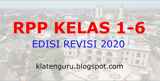 RPP 1 LEMBAR KELAS 5 KURIKULUM 2013 REVISI 2020/2021