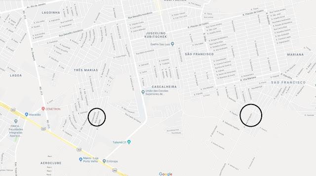 Home fez primeira vítima no bairro Renascer