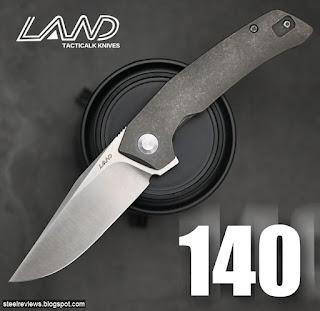 Sanrenmu - LAND 140 VG10 & titanium
